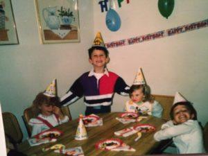 Left to Right: Kristina, Frankie, Me
