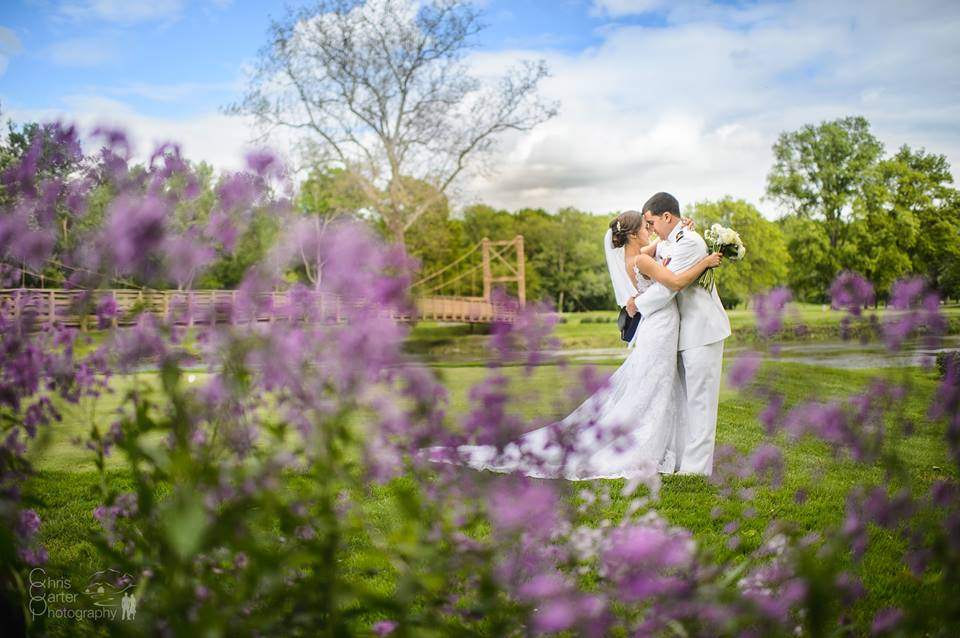 Spring Wedding at West Hills Country Club