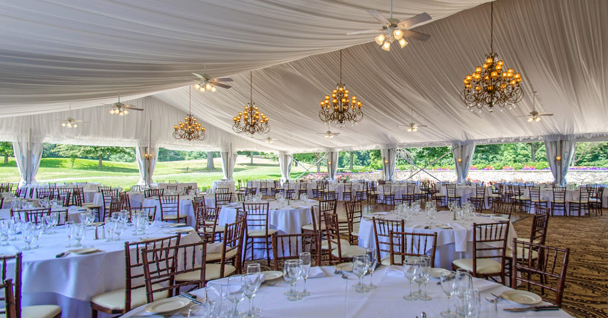Luxury Tent Wedding