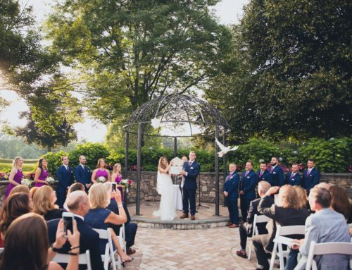 A Picture Perfect August Wedding in the Outdoor Ballroom