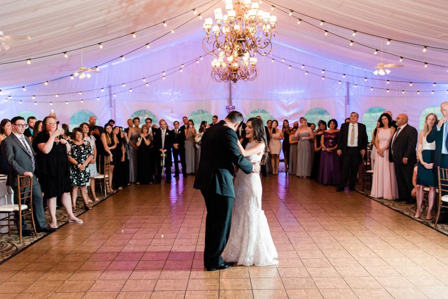 West Hills Country Club Tent Wedding Trisha Keeler Photography 20