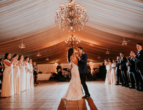 An Elegant Outdoor Ballroom